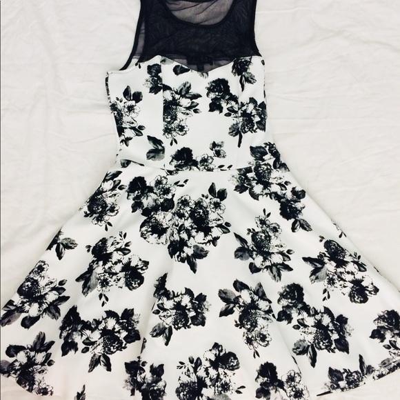 Trixxi Dresses & Skirts - Brand New—Trixxi Black Floral Dress